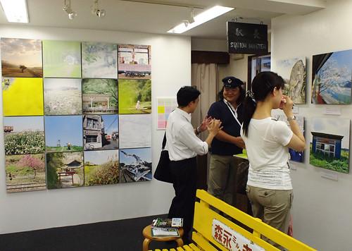 Seiya Nakai's photograph exhibition@Umeda, Osaka 2