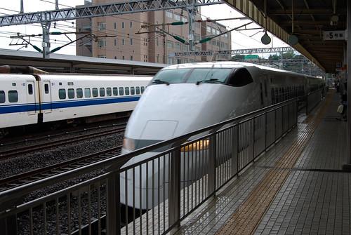 Shinkansen: Arriving