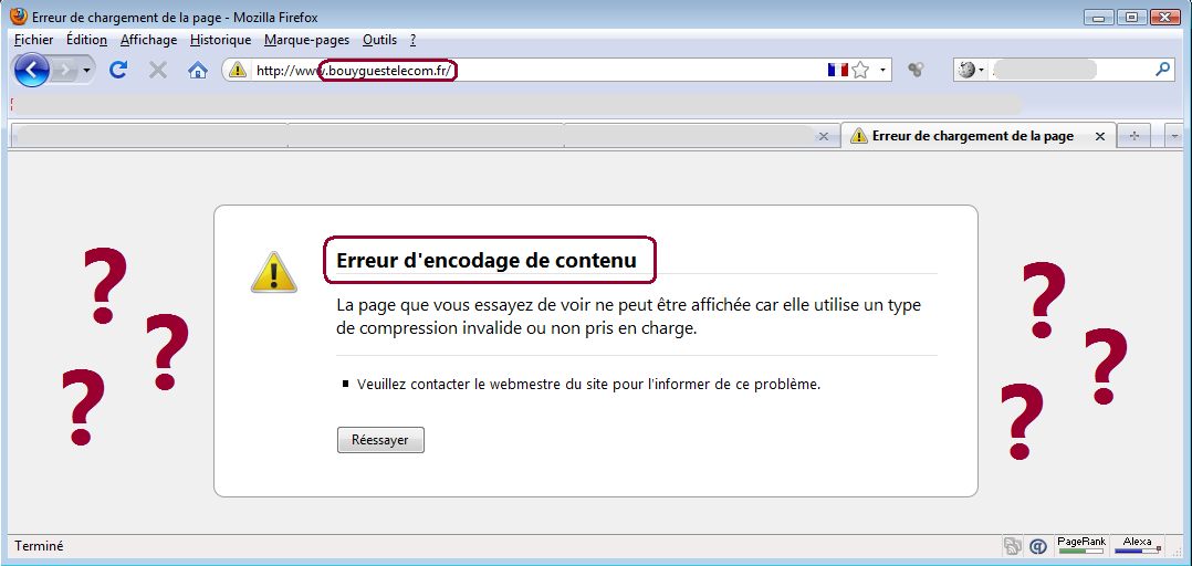 Bouygues Telecom FAIL