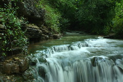 Cove Spring Cascade (John P.C.) Tags: park nature water rock canon photo waterfall kentucky ky pic cascade preserve frankfort covespring