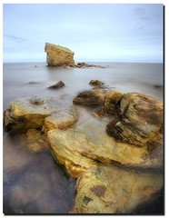 Seaton Sluice, UK (i.rashid007) Tags: longexposure beach rocks northumberland seatonsluice neutraldensity nearwhitleybay nearblyth nearnewcastleupontyne