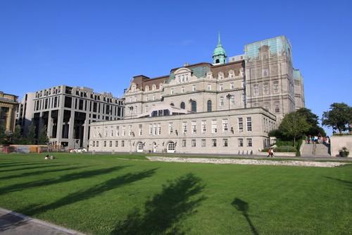 Champ de Mars and Hôtel de ville, Montreal.