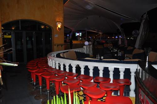 Vista de la terraza de la Discoteca