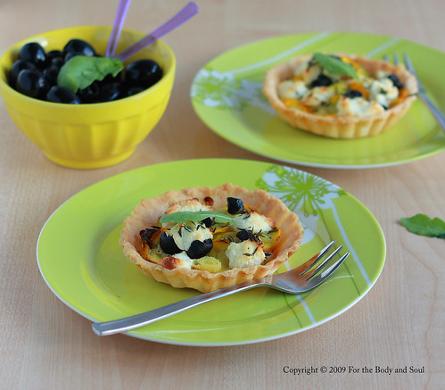 Summer squash tartlets 5382 copy
