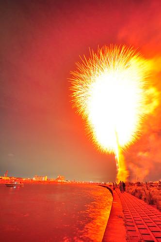 Fotografiando fuegos artificiales class=