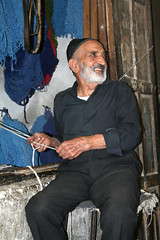 The Kashan bazaar (ADAM MUSIA) Tags: iran oldman bazaar kashan