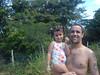 Diana e Papai na Fazenda PRatinha Depois de passar
