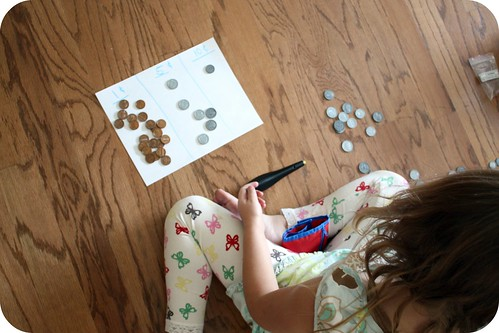 homeschool , learning to count money by you.
