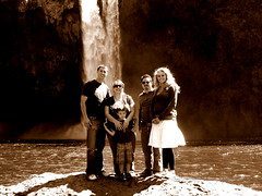 Group Photo (Meg Palmer) Tags: snoqualmiefalls