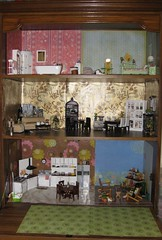 Bookcase Dollhouse1 (annesstuff) Tags: miniature rement bookcase dollhouse 112scale 16scale annesstuff