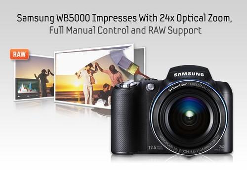 "Samsung Mengembangkan Produknya Kepada Kamera Digital ""High End"" Dengan 24x Mega Zum"
