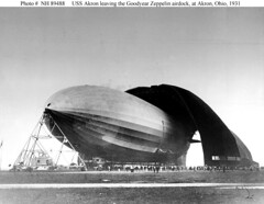 USS Akron in Hangar (lazzo51) Tags: aviation science usnavy blimps airships zeppelins luftschiff dirigibles ussakron zrs4