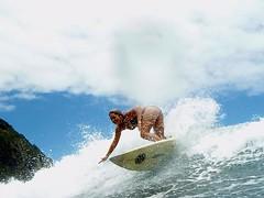 Lei surfing at Waipio (leilani&kelea) Tags: waipio waimanu valleysurfing