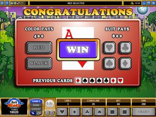 free K9 Capers gamble feature