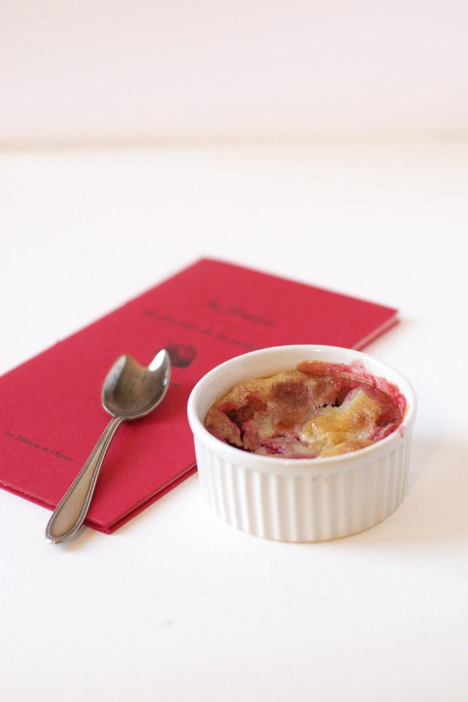 gratin fraises
