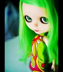 wild green eyes