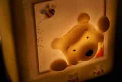 Day 263/365 - He's Winnie the Pooh Winnie the Pooh..... (Brian Scott Berkovitz Photography) Tags: bear light baby room bee honey pooh nightlight winniethepooh 365 dim huney