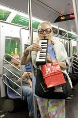 Lady Karisma (Pabo76) Tags: street new york city nyc ny train subway w queens mta gothamist performer nueva muscian    ladykarisma slidely1