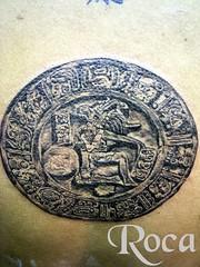 JUEGO DE LA PELOTA, CULTURA MAYA (roca tattoo studio) Tags: tattoo arte maya cultura tatuaje calendario azteca precolombino prehispanico