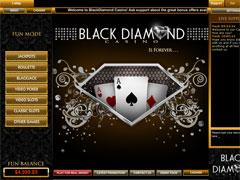 Black Diamond Casino Lobby