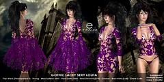 ezura + Gothic Lacey Sexy Lolita Violet (ezura Xue) Tags: ezura