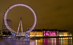 London Eye & Southbank - London after Dark series
