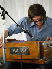 Christian Bland with Harmonium
