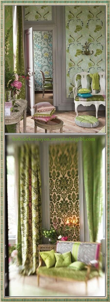 Fıstık Yeşilinin Enerji ve Sempatisini Salon Dekorasyonunuzda Bir Deneyin