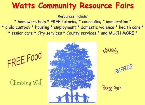 Watts Resource Fair