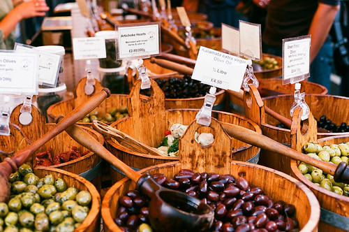 Borough Market - olives