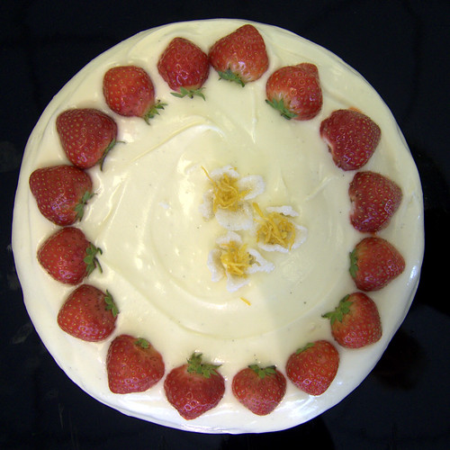 Strawberry Silk cake.