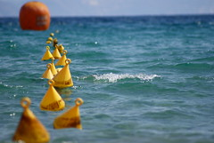 Show Me The Way (Mortarman101) Tags: sea water waves crete float med buoys mywinners