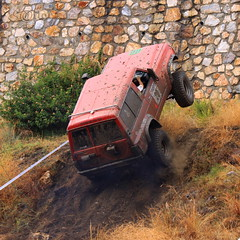 4WD ... 4X4 on two wheels (S@ilor) Tags: espaa costa beach wheel spain mediterranean 4x4 4wd playa granada tropical costadelsol andalusia landrover andalusien almucar defender twowheels taramay mywinners localclub southofspain 4x416 silor