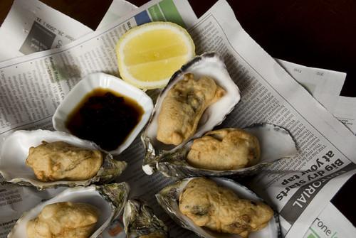 Esposito Tempura Oysters