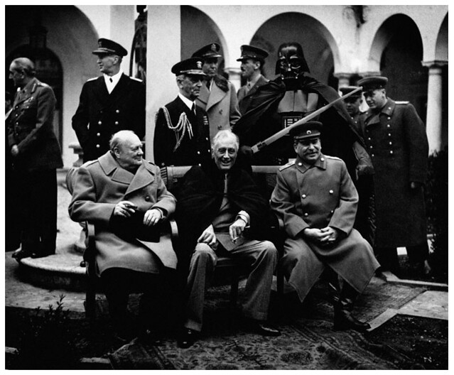Yalta Conference,  February 1945.