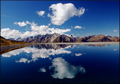 Earth and Sky (our cultural archive) Tags: sky lake mountains alps water clouds reflections austria tirol alpine tyrol cate kals copenhaver oarsquare grossglocknerblick österreicj updatecollection
