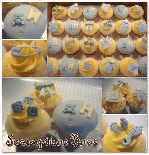 Flickriver Photoset Christening Baby Shower Cupcakes By