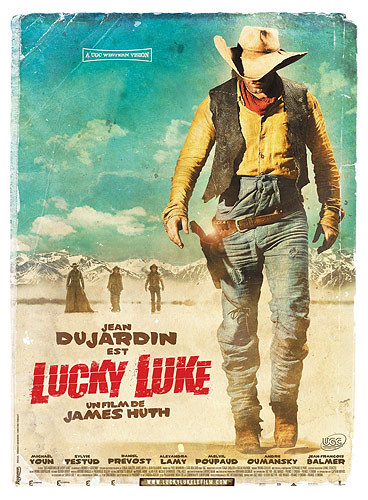 Lucky Luke Jean Dujardin