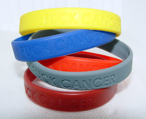 Fuck Cancer Bracelets
