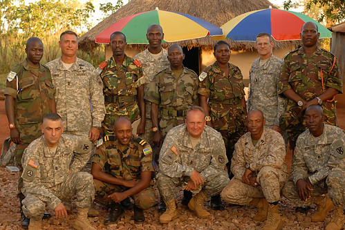 AFRICOM Sgt. Major is welcomed by Natural Fire 10 partner nations - United States Army Africa - 091020A1211N573c