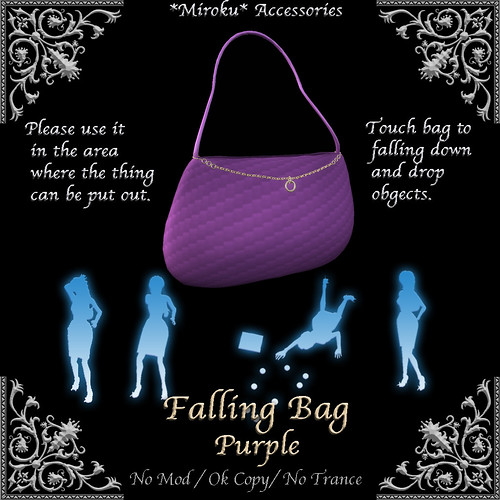 Faling Bag Purple