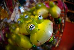 Kiss Me (Rick Insane Diego...) Tags: frog fisheye shoppingmall santee pier1