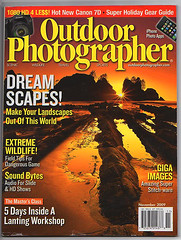 Outdoor Photographer Cover Nov Issue (kevin mcneal) Tags: publishing publication outdoorphotographer