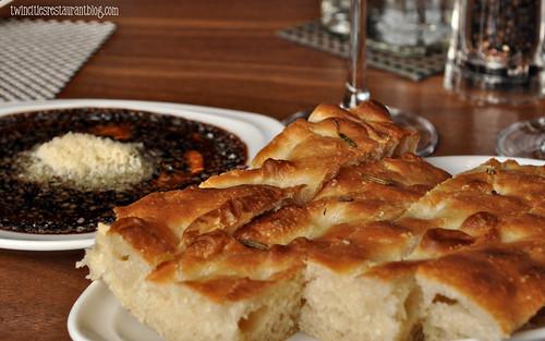 aperitif  foccacia bread