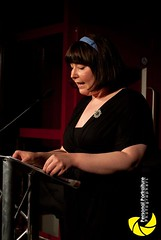 Iris Feindt at the Pandril Press Anthology Launch