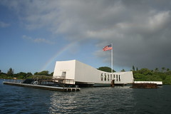 USS Arizona Memorial, Pearl Harbor.