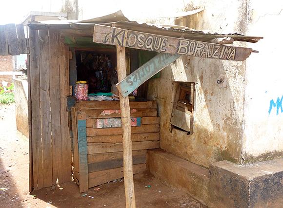 Une boutique à Bukavu