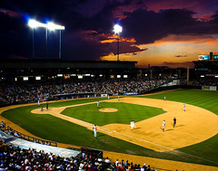 Sunset at Dell Diamond (50%ChanceofRain) Tags: texas roundrock delldiamond roundrockexpress getrdun top20texas jasonstpeter mjsphotography 50chanceofrain 50chanceofraintop20texas