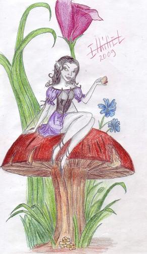 Elina in wonderland