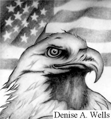 Eagle and American Flag Tattoo Design by Denise A. Wells (Denise A. Wells) Tags: blackandwhite bw art tattoo america pencil freedom design sketch cool artwork artist emotion eagle drawing flag baldeagle creative americanflag pride forever feeling calligraphy bodyart zeichnungen techniques shading irezumi illistration tattoodesign birdportrait lovetattoo eagledrawing letteringtattoo freetattoodesigns nametattoos eagleportrait shadingtechniques deniseawells calligraphyfonts calligraphyalphabet baldeagleart customtattoodesign nametattooideas imagenesdeflashestattoos professionallydesignedtattoos lovetattoodesigns tattoosforcouples lovetattooflash creativetattoodesigns creativetattoo drawingtattoodesigns epicink cooltattooideas cutetattooideas uniquetattooideasdrawings tattoolinework uniquecalligraphyfonts realisticeyedrawings denyceangel40yahoocom epictattoos crosshatchingshading artistshadingtools shadingtechniqueswithpencil realisticpencildrawings tattoocreator